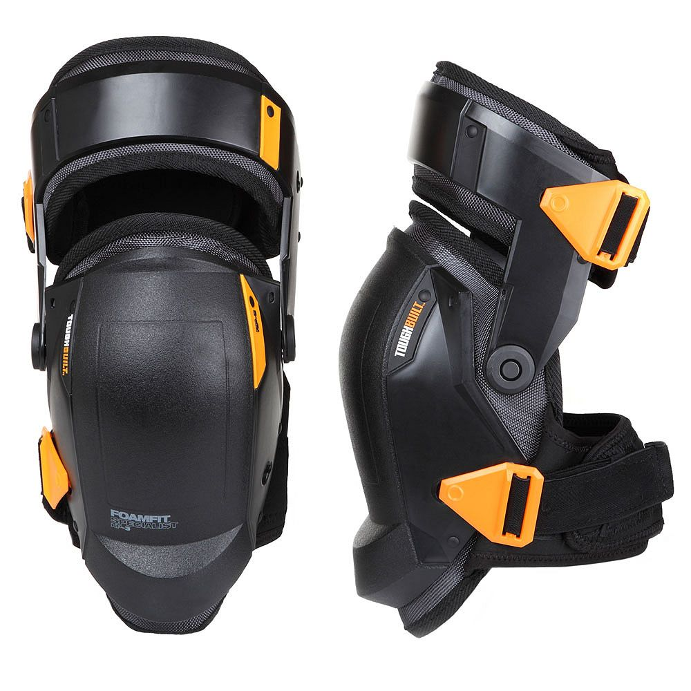 TOUGHBUILT FoamFit Specialist Thigh Support Stabilization Knee Pads