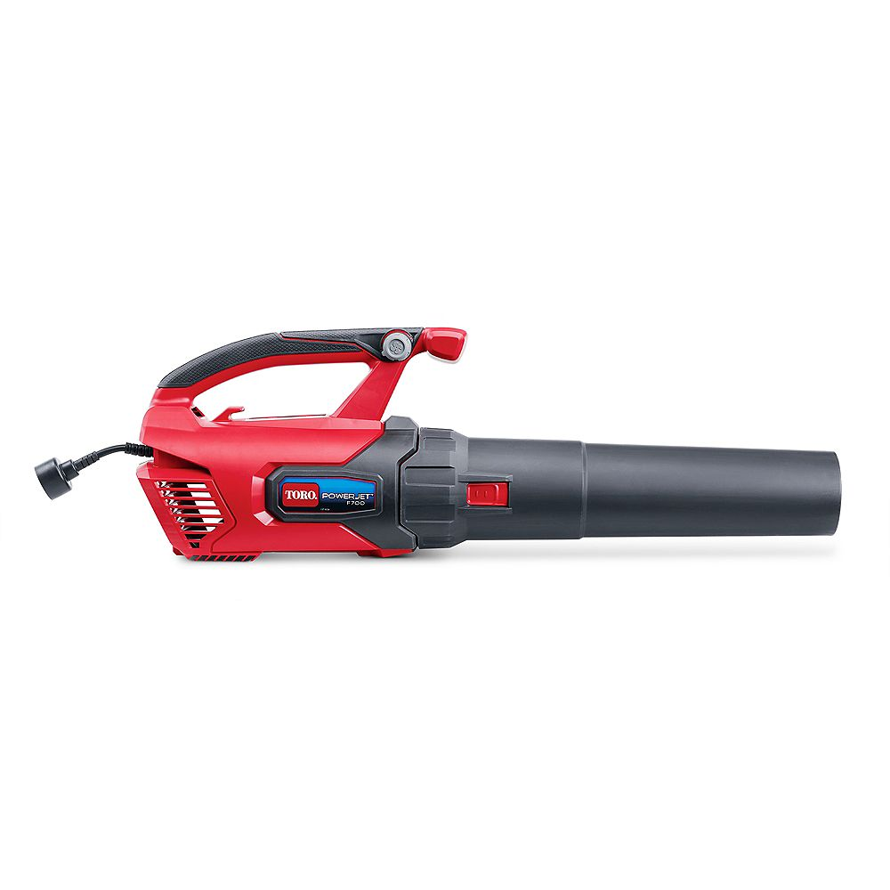 Toro PowerJet F700 140 MPH 725 CFM 12 Amp Electric Handheld Leaf Blower 51624