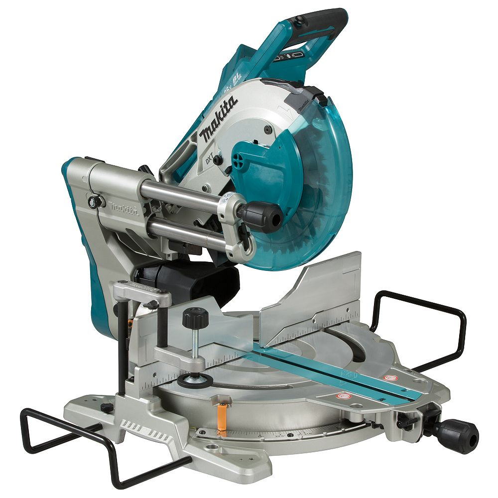MAKITA 10 inch. Cordless Sliding Compound Mitre Saw with Brushless Motor