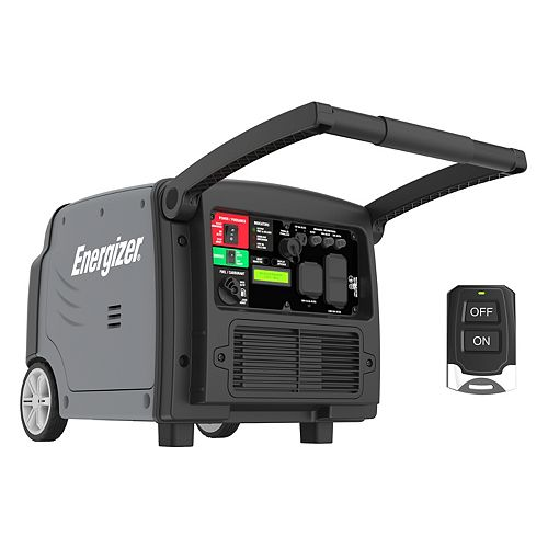 3,200-W Inverter Generator with Remote Start and Parallel Capability, Gas Powered Portable