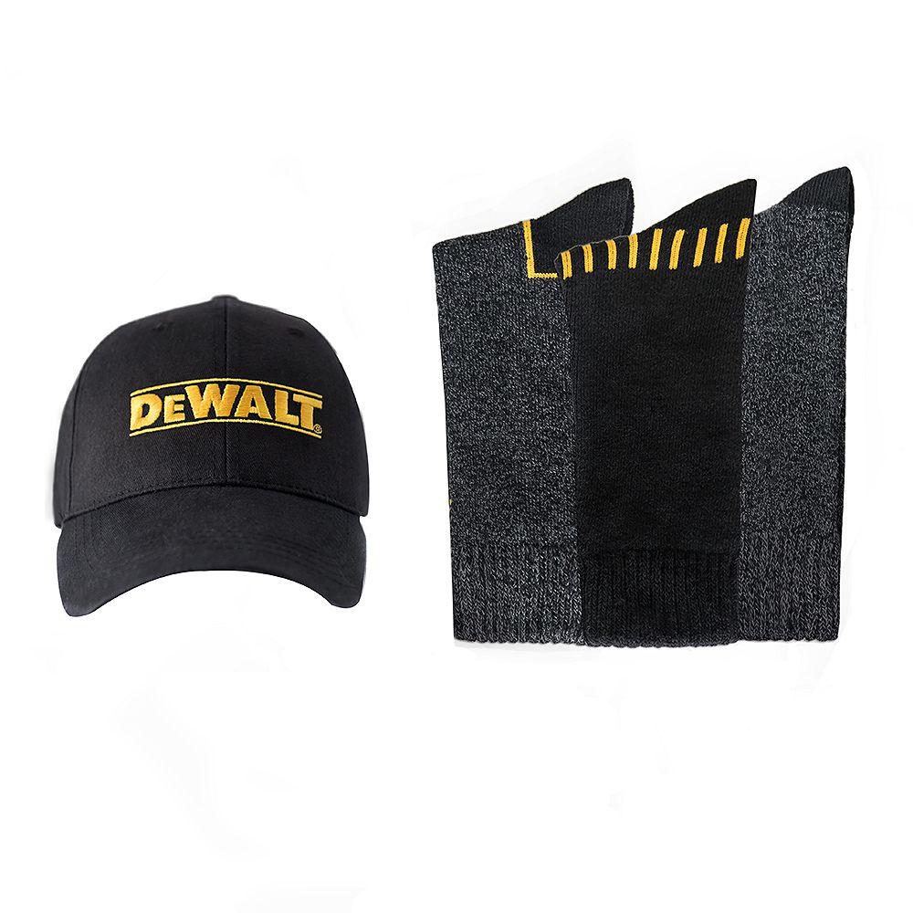 DEWALT Sock and Ball Cap Combo