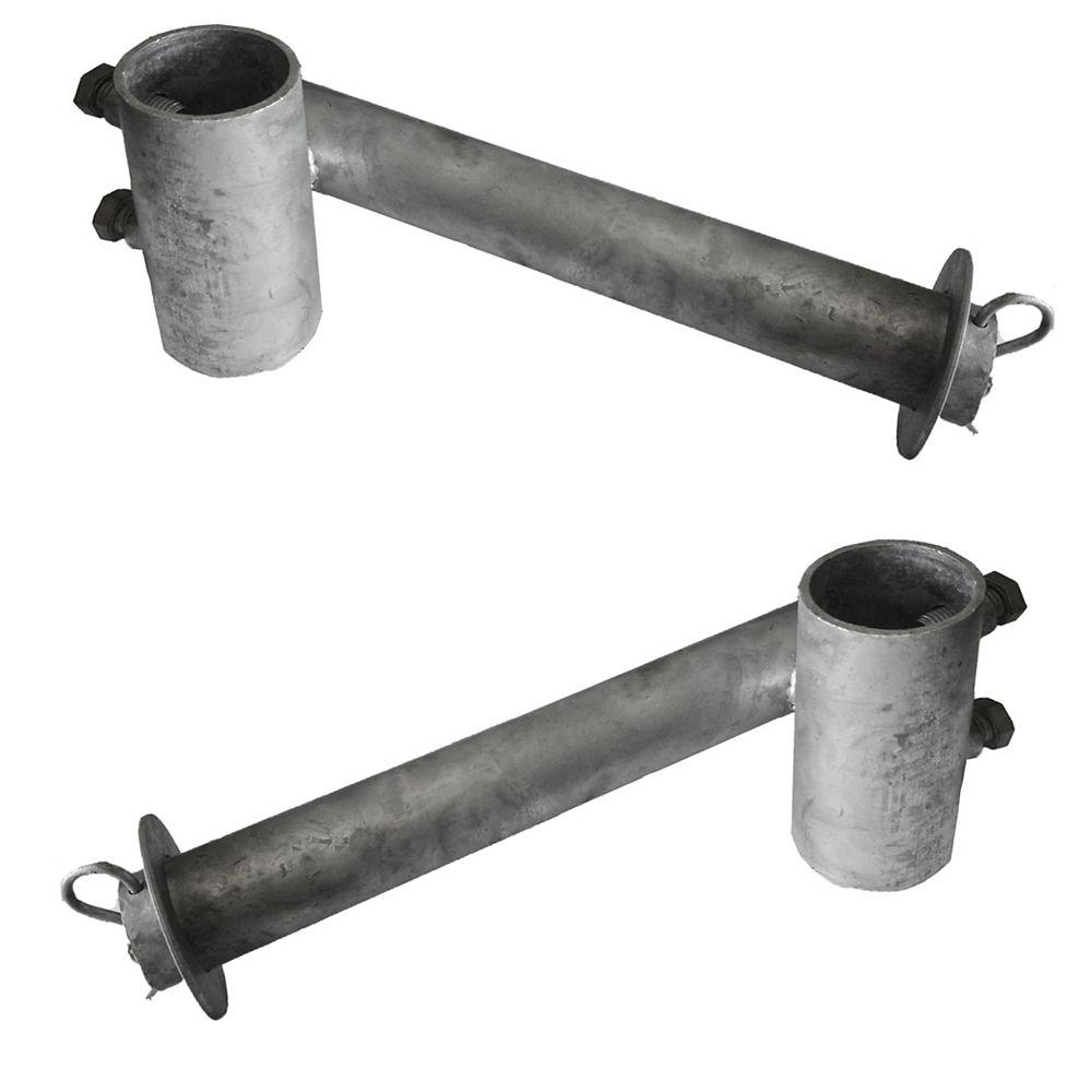 Multinautic Pair (2) Galvanised Hubs for Plastic Wheels