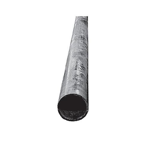 Pair (2) 8 ft. Galvanised Steel Posts, 1 11/16 inch od