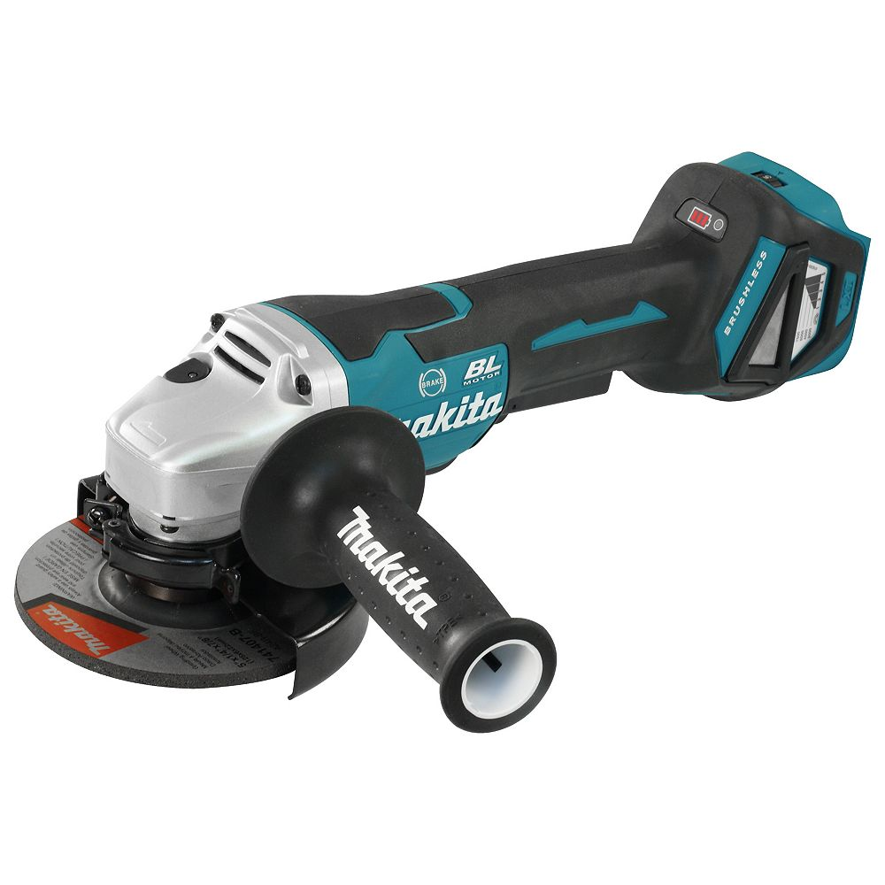 MAKITA 5 inch Cordless Angle Grinder with Brushless Motor