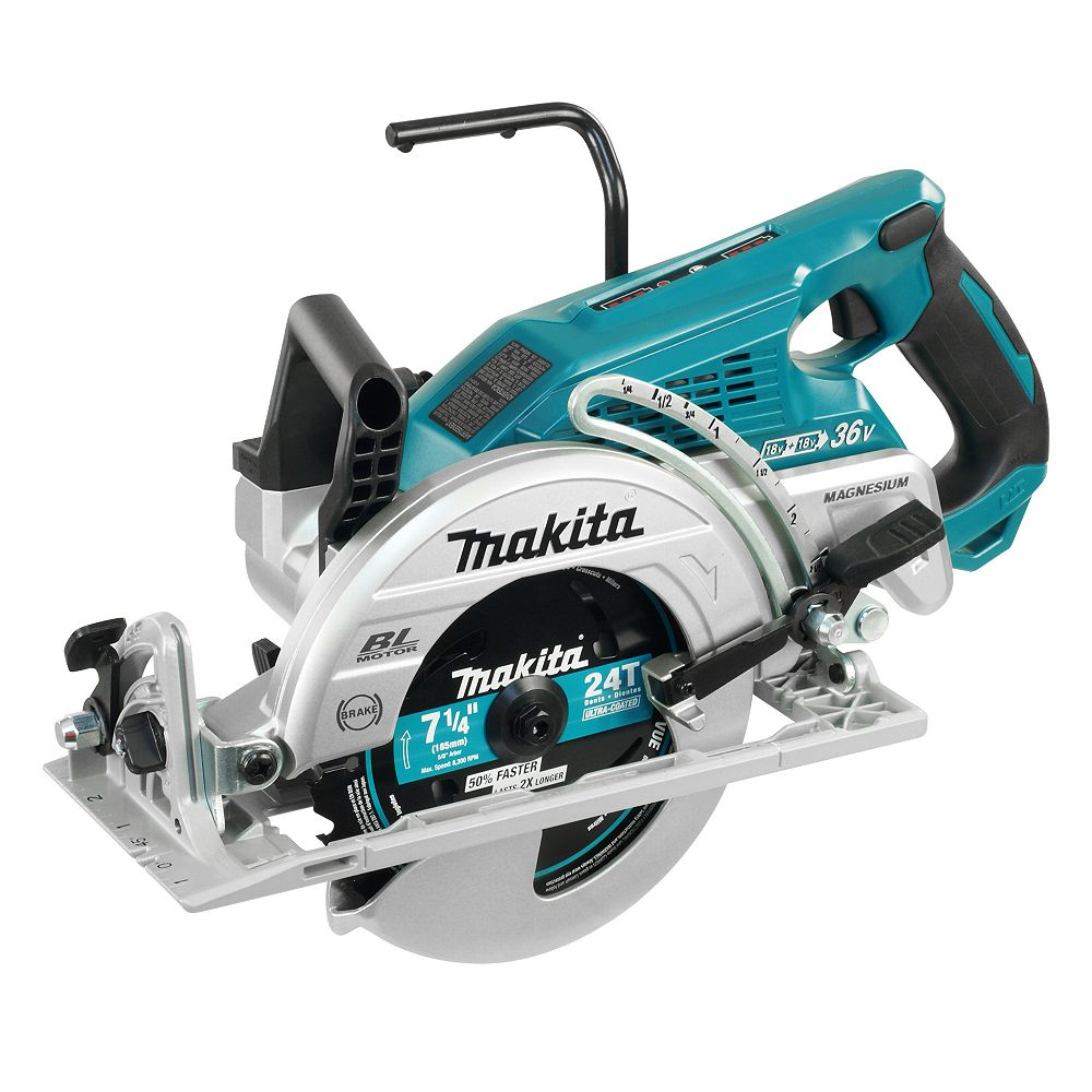 MAKITA 18Vx2 (36V) LXT 7-1/4 inch Rear Handle Saw (Tool only)