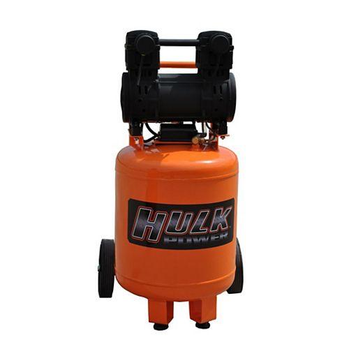 Hulk by 2hp 10 Gal. Silent Air Portable Compressor