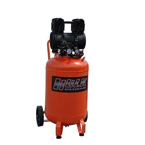 Hulk by 2hp 20 Gal. Silent Air Portable Compressor