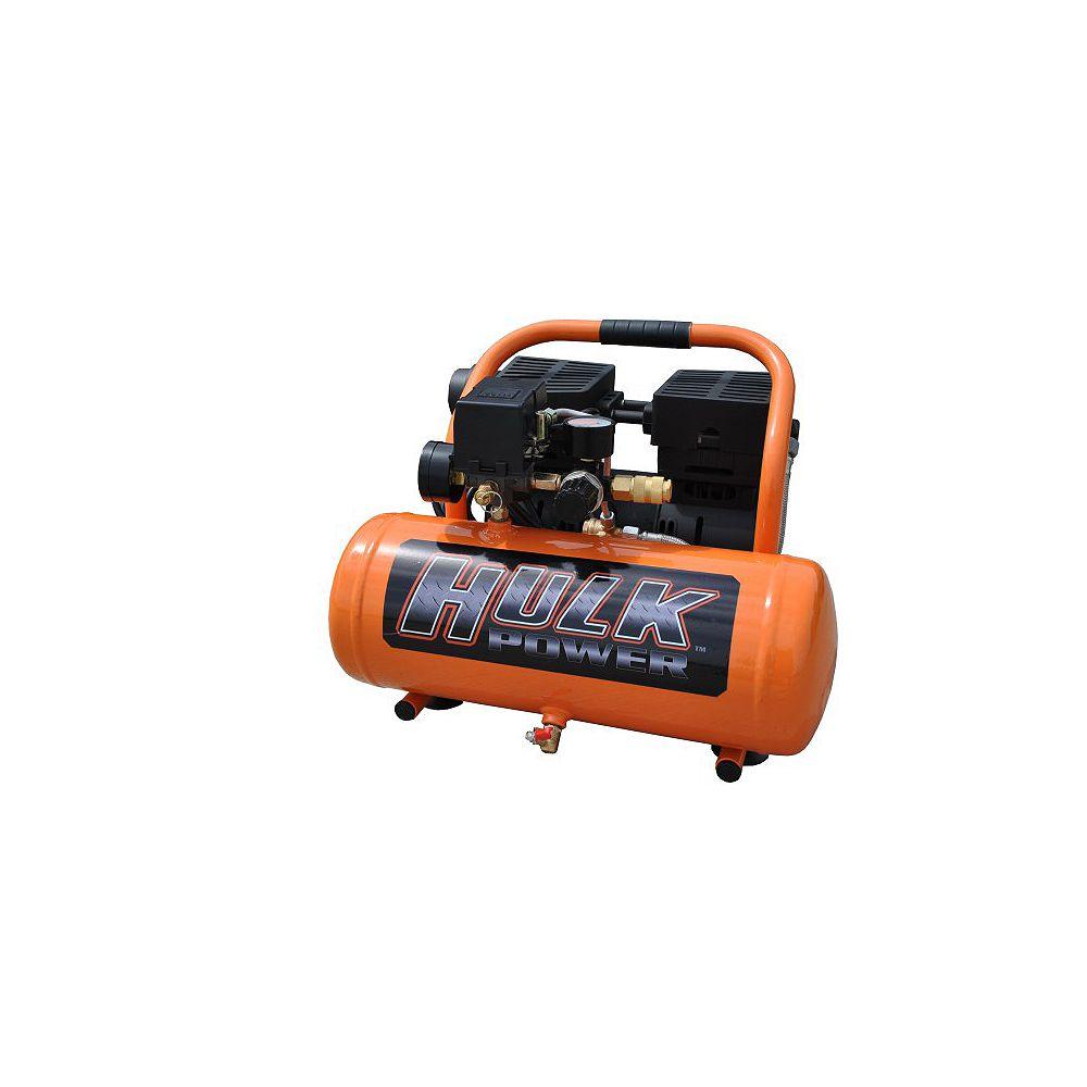EMAX Hulk by 1hp 2 Gal. Silent Air Portable Compressor