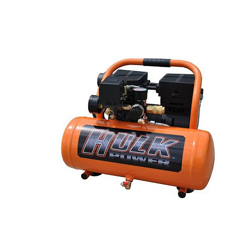 EMAX Hulk by 1hp 2 Gal. Silent Air Portable Compressor