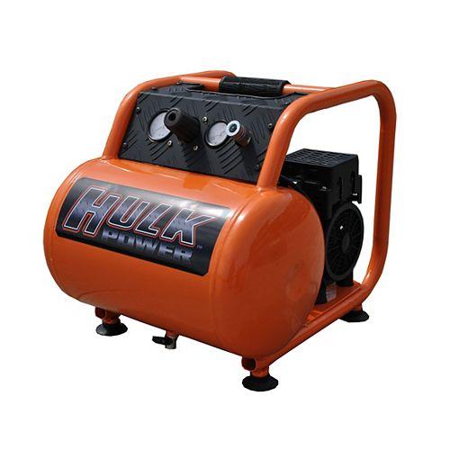 Hulk by 1hp 5 Gal. Silent Air Portable Compressor