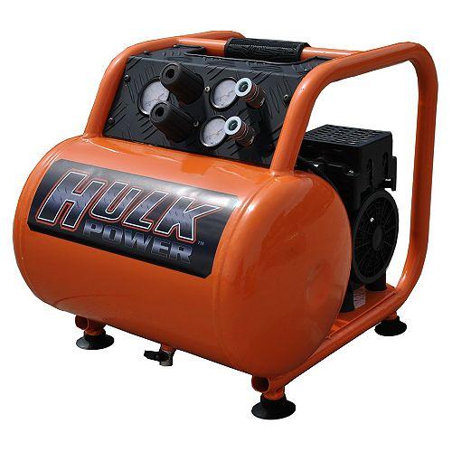 Hulk by 1.5hp 5 Gal. Silent Air Portable Compressor