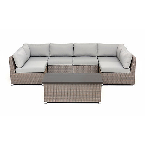 Chambers Bay Collection 7.2 with Grey Cushions