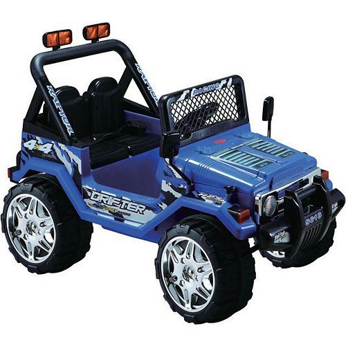 Blue 12V Ride on Jeep Wrangler