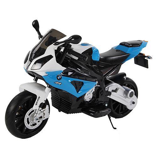 Kidsquad Blue12V BMW Racing Motorbike