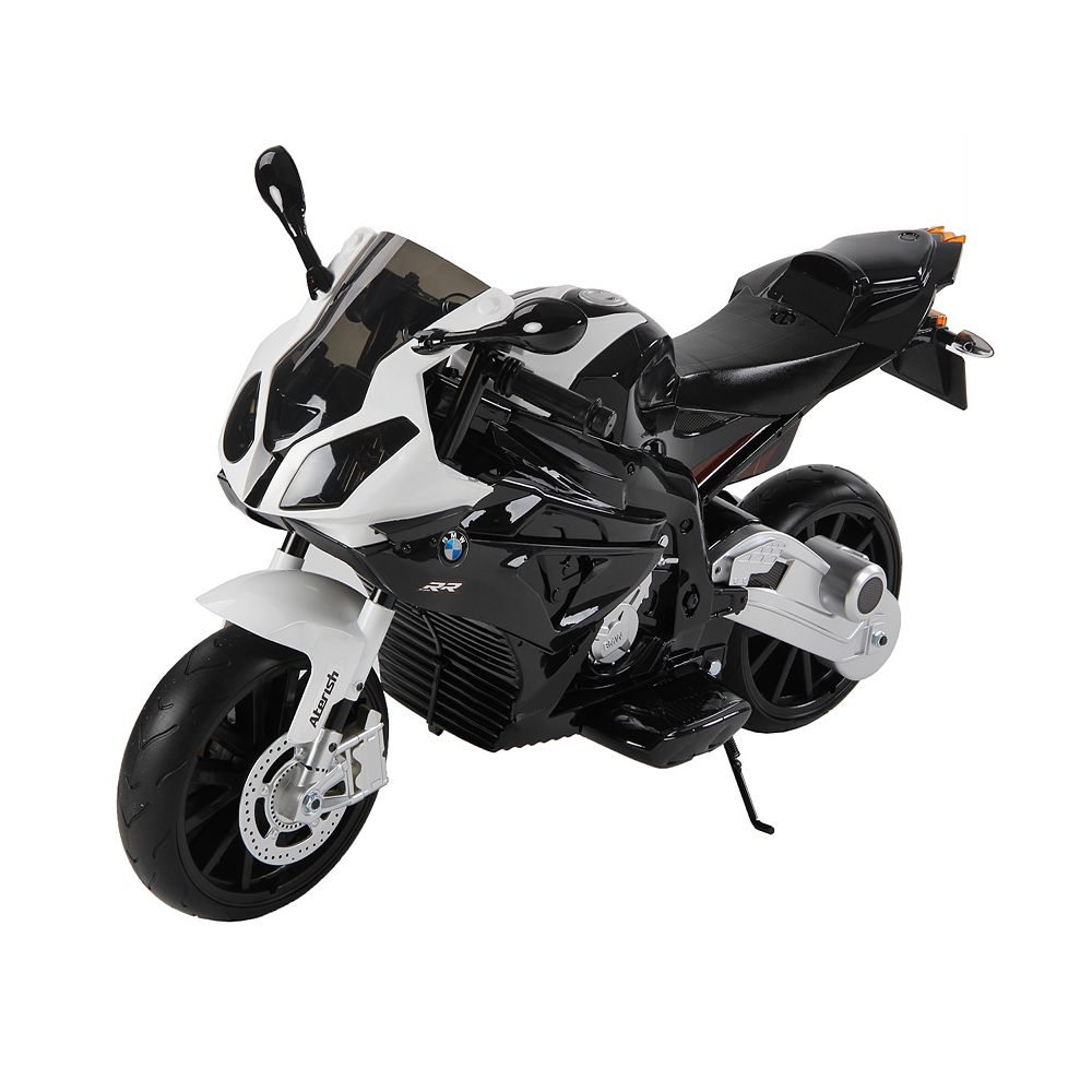 Kidsquad Black 12V BMW Racing Motorbike