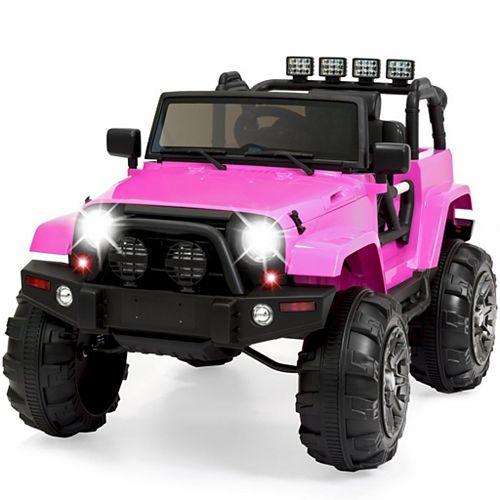 Kidsquad Pink 12V Mudslinger