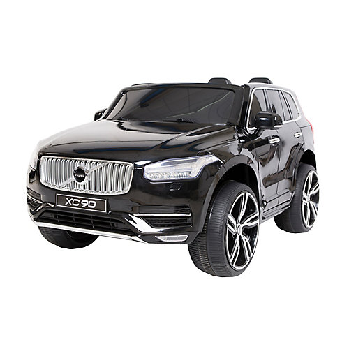 Black Volvo XC90 Kids' Ride-On Toy