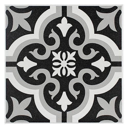 Merola Tile Braga Classic 7-3/4-inch x 7-3/4-inch Ceramic Floor and Wall Tile (11.11 sq. ft. / case)