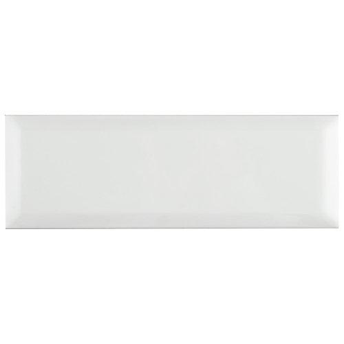 Santorini Loft Blanco 4-inch x 11-7/8-inch Ceramic Wall Tile (12.17 sq. ft. / case)