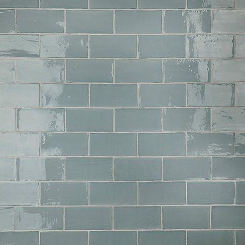Chester Acqua 3-inch x 6-inch Ceramic Wall Tile (5.5 sq. ft. / case)