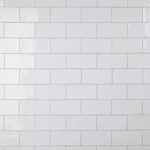 Chester Bianco 3-inch x 6-inch Ceramic Wall Tile (5.5 sq. ft. / case)