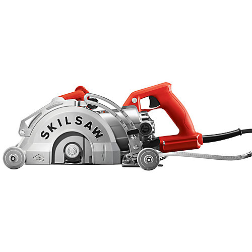 MEDUSAW 7-inch 15 amp Corded Aluminum Worm Drive Concrete Saw