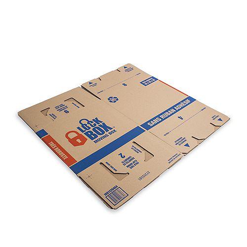 Lock Box Tapeless Moving Box