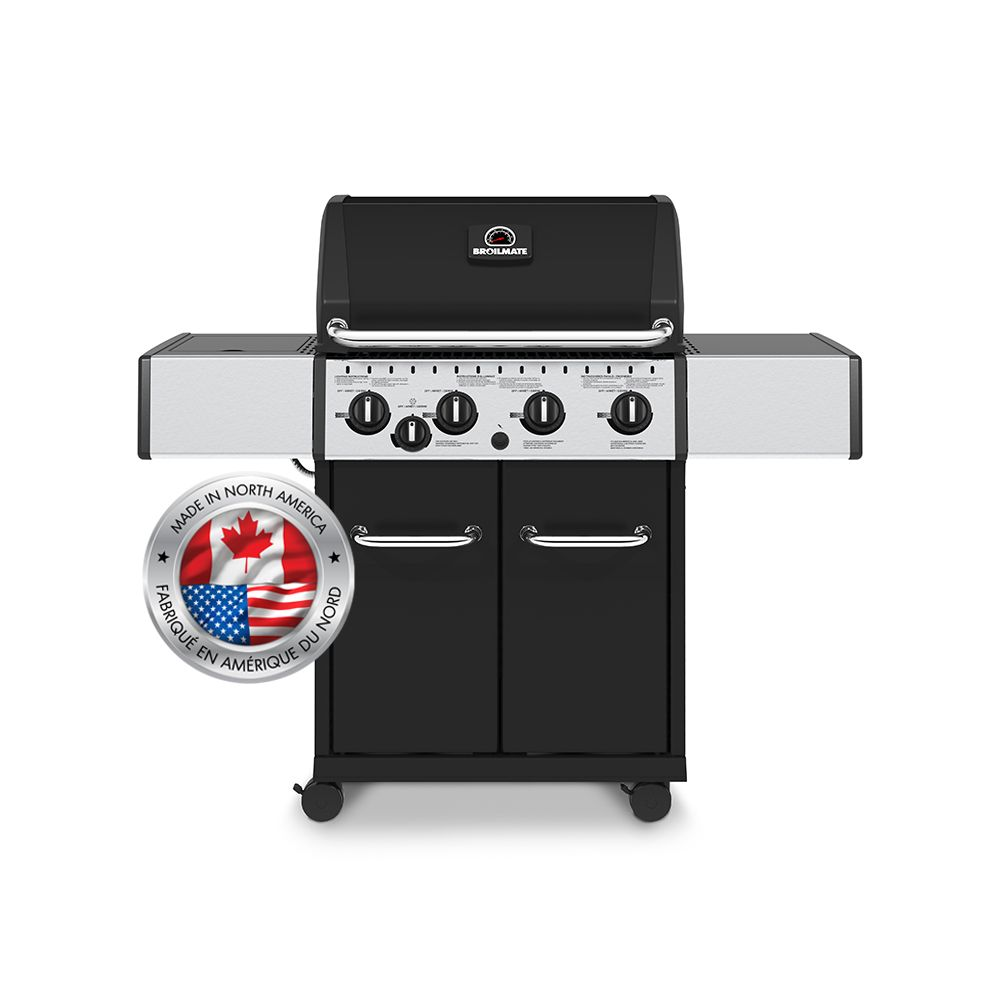 Broil mate 40K BTU + SB Black Cabinet LP 765264