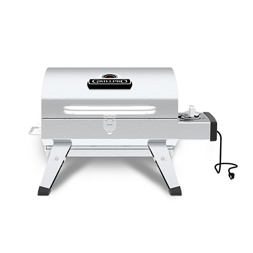 Table Top Portable Electric BBQ in Stainless Steel