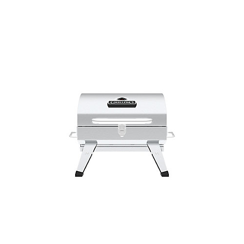 Table Top Portable Charcoal BBQ in Stainless Steel