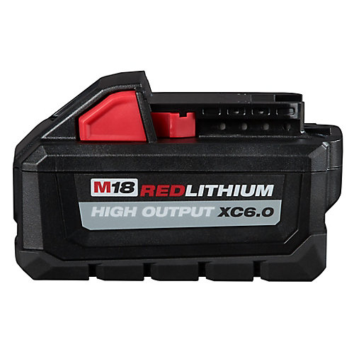 M18 18V Lithium-Ion Extended Capacity (XC) HIGH OUTPUT 6.0 Ah REDLITHIUM Battery Pack