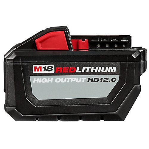 M18 18V Lithium-Ion High Demand (HD) HIGH OUTPUT 12.0 Ah REDLITHIUM Battery Pack
