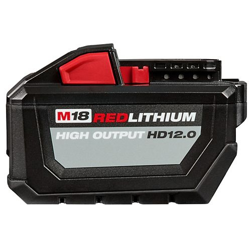 M18 18V Lithium-Ion High Demand (HD) HIGH OUTPUT 12.0 Ah REDLITHIUM Battery Pack