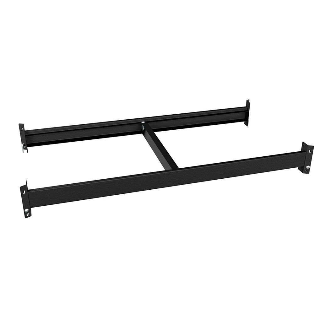 Husky 1000 Series Customizable Shelving 36-inch W x 4.25-inch H x 18-inch D Beam and Brace Kit in Black