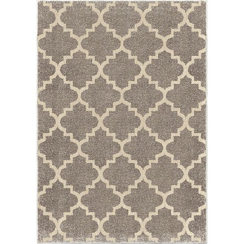 Tunnis Pewter 5 ft. 3-inch x 7 ft. 6-inch Indoor Area Rug