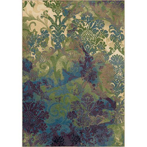 Carpette d'intérieur Flotty Bone, 7 pi 10 po x 10 pi 10 po (239 x 330 cm)