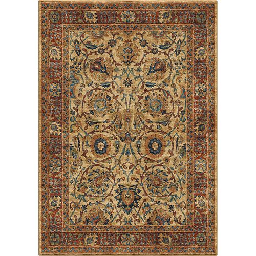 Persian Varse White 5 ft. 3-inch x 7 ft. 6-inch Indoor Area Rug