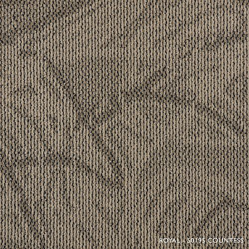 Royal Countess Modular Carpet Tile (21.53 sq. ft. /case)