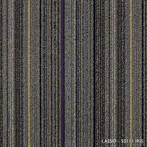 Carreau de tapis-Lasso coleur Iris (21.53 SF)