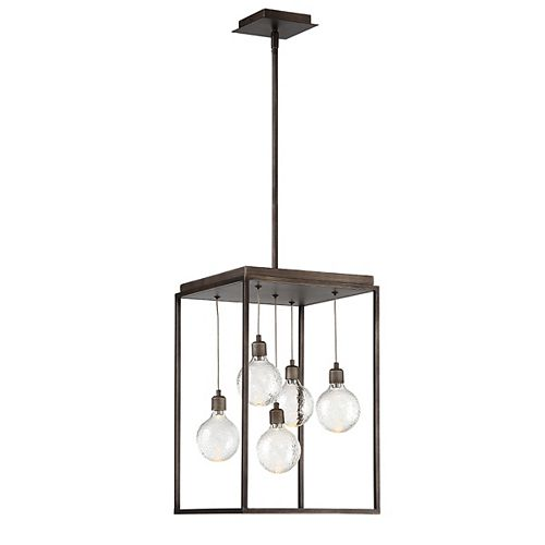 Eurofase Zarina 5-Light LED Chandelier - 34057-018