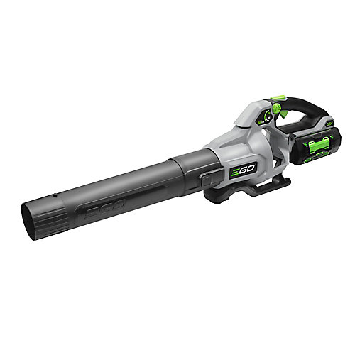 580 CFM Variable-Speed 56V Li-Ion Cordless Leaf Blower - 5.0 Ah Battery and 210W Charger Included