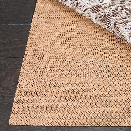 Safavieh Ultra Beige 9 ft. x 12 ft. Non-Slip Surface Rug Pad