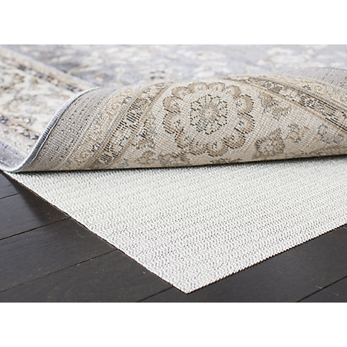 Ultra White 5 ft. x 8 ft. Non-Slip Surface Rug Pad