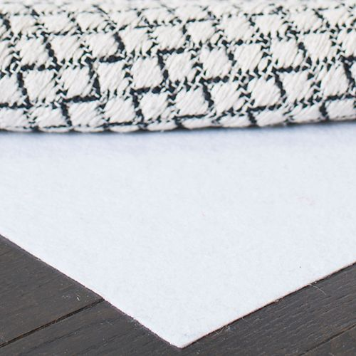 Safavieh Hold White 2 ft. x 4 ft. Non-Slip Surface Rug Pad (Set of 2)