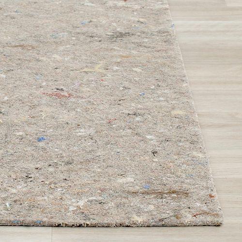 Dura Grey 4 ft. x 6 ft. Non-Slip Surface Rug Pad