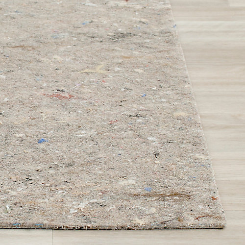 Dura Grey 6 ft. x 6 ft. Square Non-Slip Surface Rug Pad