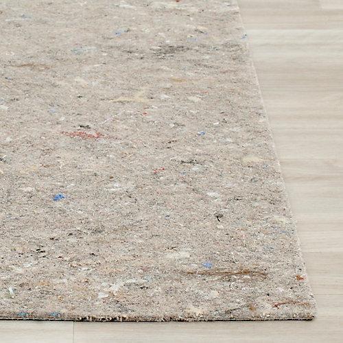 Dura Grey 8 ft. x 10 ft. Non-Slip Surface Rug Pad