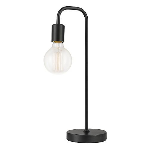 "Lampe de table de 18"", collection Holden, fini noir"