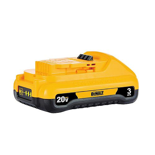 DEWALT 20V MAX Lithium-Ion Compact Battery Pack 3.0Ah