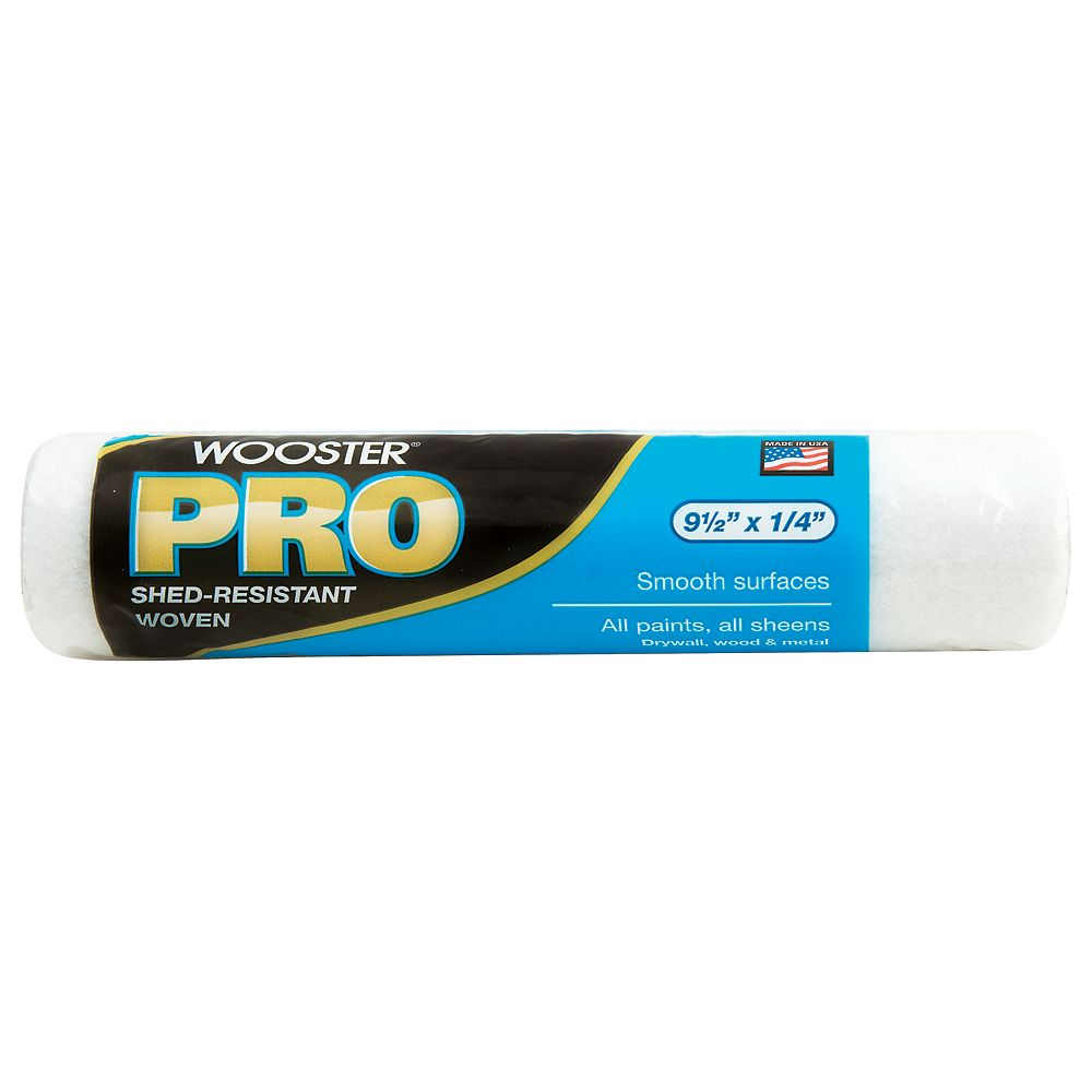 Wooster 9-1/2 in. x 1/4 in. (240mm x 6mm) Wooster Pro Woven Roller Cover
